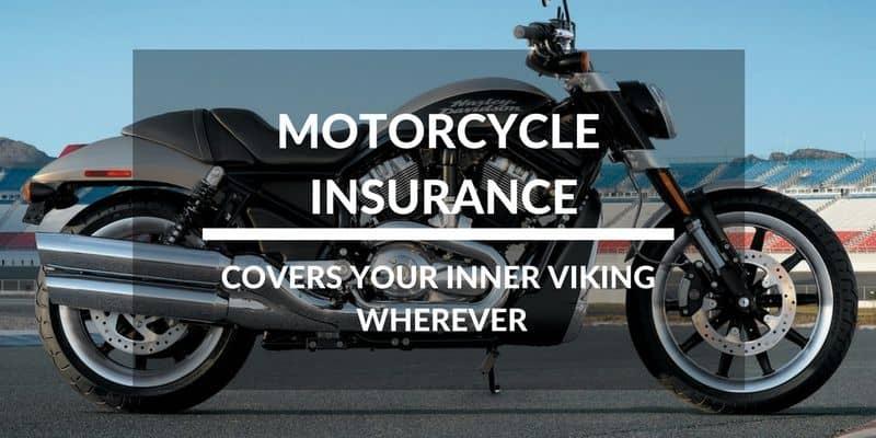 Motorcycle Insurance Covers Your Inner Viking Wherever